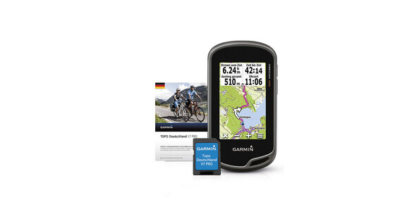 Garmin Oregon 600 - GPS - + pack TOPO Allemagne PRO V7  orange/noir